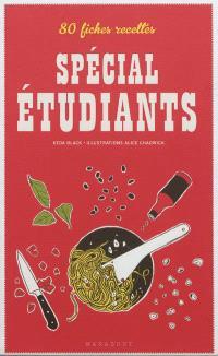 80 fiches recettes spécial étudiants