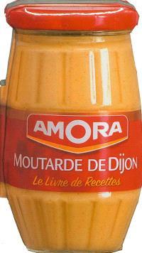 Amora : moutarde de Dijon : le livre de recettes