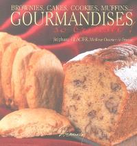 Brownies, cakes, cookies, muffins... gourmandises so british !