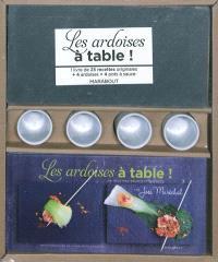 Cook'in box, Les ardoises à table !