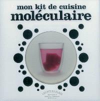 Cook'in box, Mon kit de cuisine moléculaire : 28 recettes