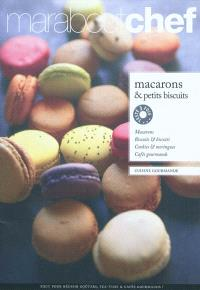 Macarons et petits biscuits