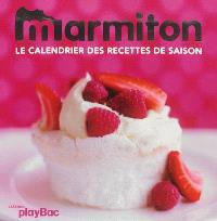 Marmiton : le calendrier des recettes de saison