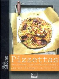 Pizzettas : des herbes, des produits frais... et tout le charme d'un soir d'été