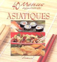 40 menus équilibrés asiatiques