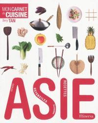 Asie : mon carnet de cuisine