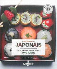 Petits plats japonais : sushi, sashimi, onigiri, bento