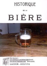 Historique de la bière