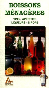 Les boissons ménagères