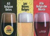All belgian beers = Les bières belges = Alle Belgische bieren