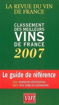 Classement des meilleurs vins de France 2007