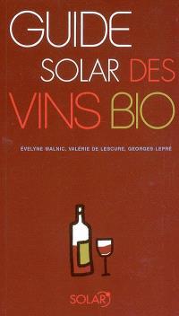 Guide Solar des vins bio