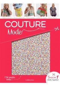 Couture : mode : patrons du 34 au 46