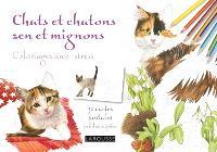 Chats et chatons zen et mignons : 32 cartes postales prédécoupées