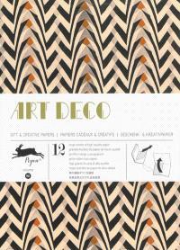 Gift & creative papers = Papiers cadeaux & créatifs = Geschenk- & Kreativpapier. Volume 50, Art déco
