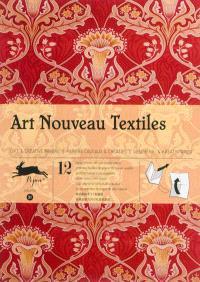 Gift & creative papers = Papiers cadeaux & créatifs = Geschenk- & Kreativpapier. Volume 31, Art nouveau textiles