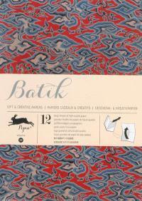 Gift & creative papers = Papiers cadeaux & créatifs = Geschenk- & Kreativpapier. Volume 39, Batik