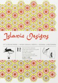 Gift & creative papers = Papiers cadeaux & créatifs = Geschenk- & Kreativpapier. Volume 32, Islamic designs