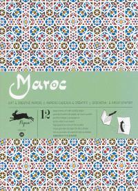 Gift & creative papers = Papiers cadeaux & créatifs = Geschenk- & Kreativpapier. Volume 28, Morocco