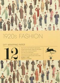 Gift wrapping paper book. Volume 10, 1920s fashion