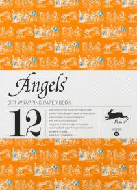 Gift wrapping paper book. Volume 18, Angels