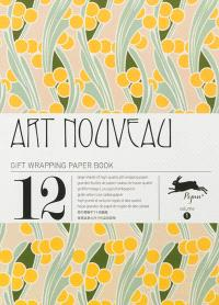 Gift wrapping paper book. Volume 1, Art nouveau