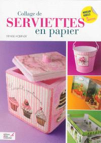 Collage de serviettes en papier : nouveaux modèles de serviettes