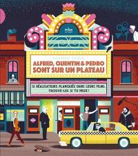Alfred, Quentin & Pedro sont sur un plateau : 12 réalisateurs planqués dans leurs films, trouve-les si tu peux !