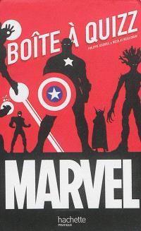 Marvel : boîte à quiz