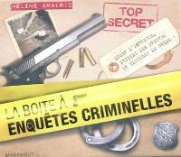 La boîte à enquêtes criminelles : menez l'enquête, étudiez les preuves et résolvez l'énigme !