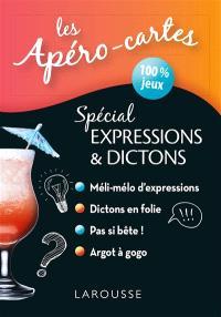 Les apéro-cartes spécial expressions & dictons