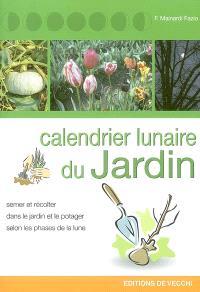 Le calendrier lunaire du jardinier