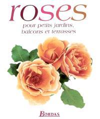 Roses pour petits jardins, balcons et terrasses