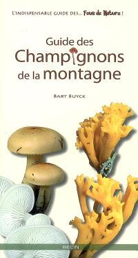 Guide des champignons de la montagne