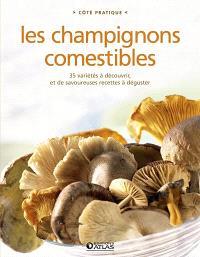 Les champignons comestibles : 35 variétés à découvrir, et de savoureuses recettes à déguster