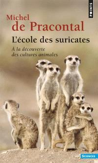 L'école des suricates : à la découverte des cultures animales
