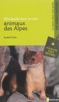 Animaux des Alpes