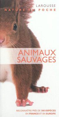 Animaux sauvages : reconnaître près de 300 espèces en France et en Europe