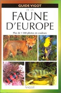 Guide Vigot de la faune d'Europe
