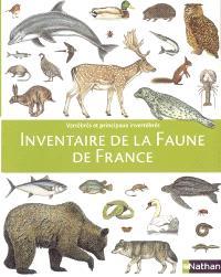 Inventaire de la faune de France : vertébrés et principaux invertébrés