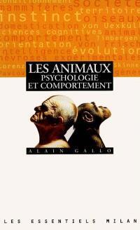 Les animaux, psychologie et comportement