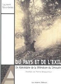 Du pays et de l'exil : un abécédaire de la littérature du Limousin : essai