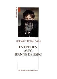 Entretien avec Jeanne de Berg