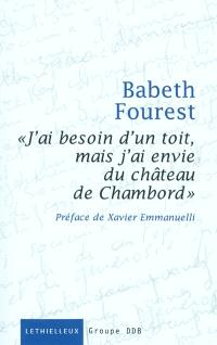 J'ai besoin d'un toit mais j'ai envie du château de Chambord : un atelier d'écriture au Samu social de Paris