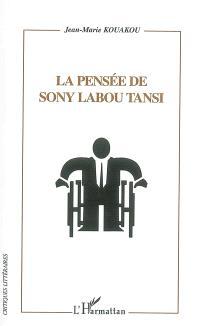 La pensée de Sony Labou Tansi