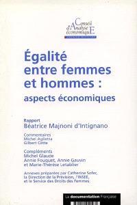 Egalité entre femmes et hommes : aspects économiques