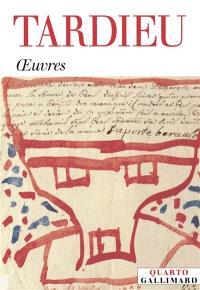 Tardieu : oeuvres