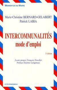 Intercommunalités : mode d'emploi