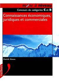 Connaissances économiques, juridiques et commerciales