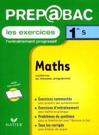 Mathématiques, 1re S : exercices